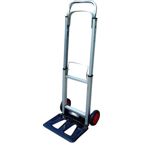 """main image of """"TEC HIT - Diable pliant - En Aluminium - Charge Max 100 kg - Leger et compact"""""""