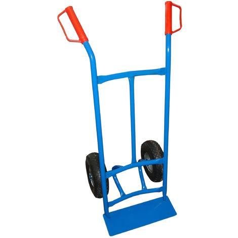 TEC HIT - Diable Professionnel - Charge Max 250 kg - Bleu