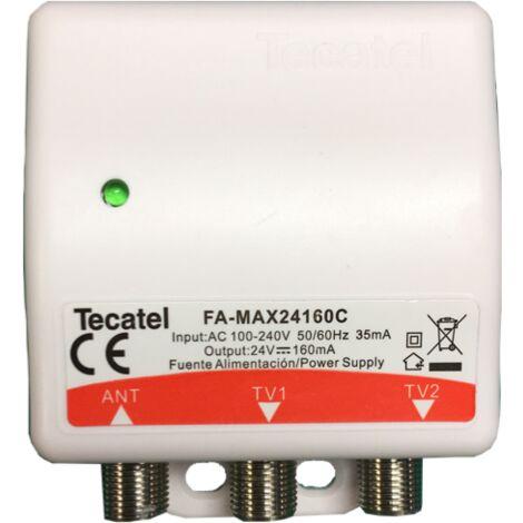 Tecatel Fuente de alimentación 24V, 160 mA