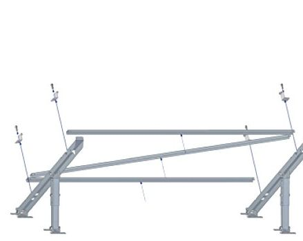 Tecatel - Soporte Suelo/Pared Panel Solar