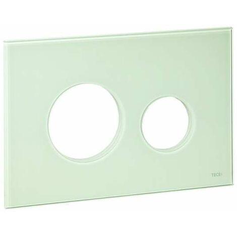 TECE Blende für TECEloop WC-Betätigungsplatte, Glas asis grün 9240672