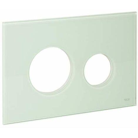TECE Blende für TECEloop WC-Betätigungsplatte, Glas mintgrün 9240670