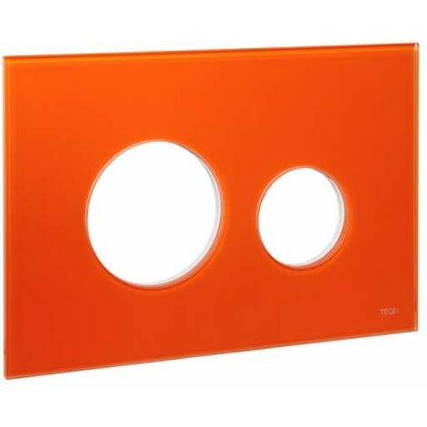 TECE Blende für TECEloop WC-Betätigungsplatte, Glas orange 9240673