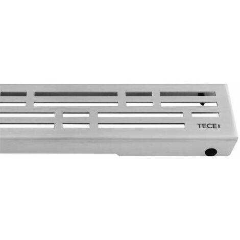 TECEdrainline Designrost ''basic'' 800 mm Edelstahl gebürstet, gerade 600811