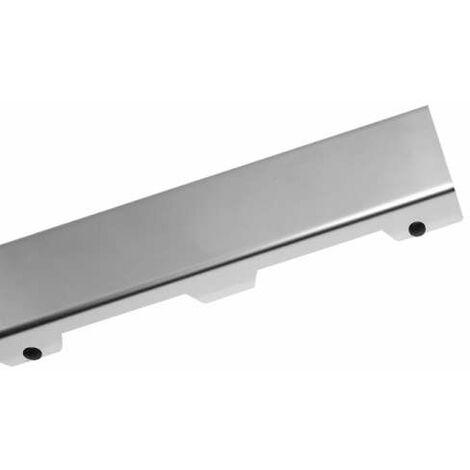 TECE Drainline Designrost steel II f/ür Duschrinne,Edelstahl poliert 120cm 601282