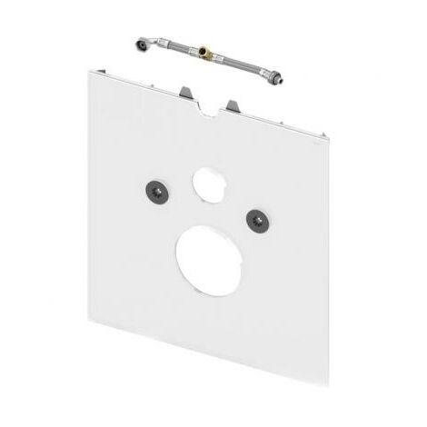 TECElux WC vitré pour douche WC pour Geberit AquaClean Sela et Mera et Grohe Sensia Arena, Exécution: Verre blanc - 9650104