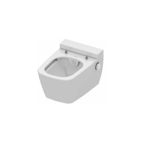 TECEone WC en céramique, sans chasse d'eau, avec fonction douche, blanc - 9700200