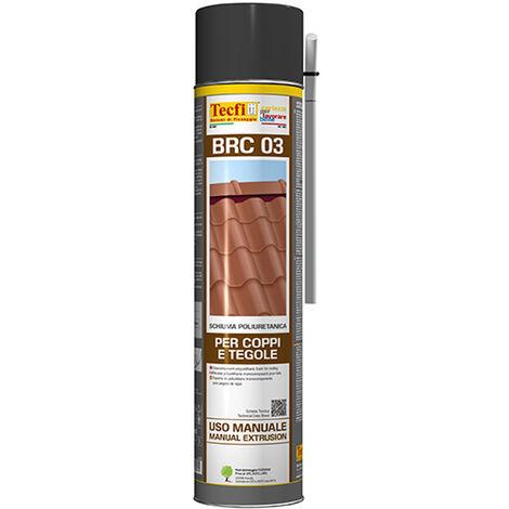 Tecfi BRC 03 schiuma poliuretanica monocomponente per coppi e tegole 750 ml