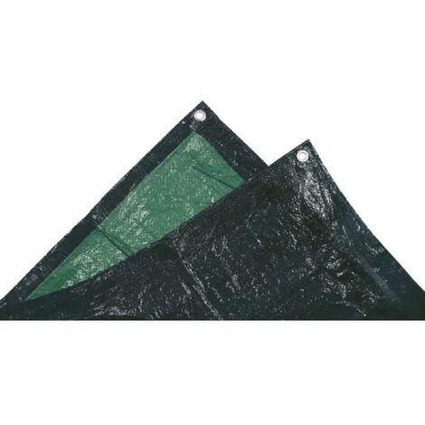 TECHIT Bâche ultra lourde de protection 240g/m² - 2 x 3m