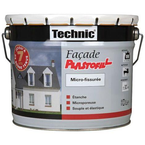 TECHNIC FACADE PLASTOFIL 10L BLANC