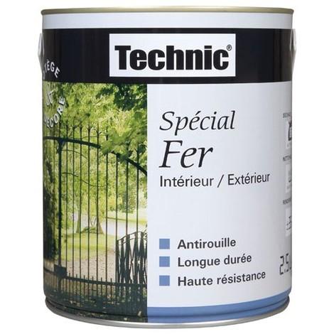 TECHNIC - Peinture fer anti-rouille 2.5 L Technic - blanc cassé