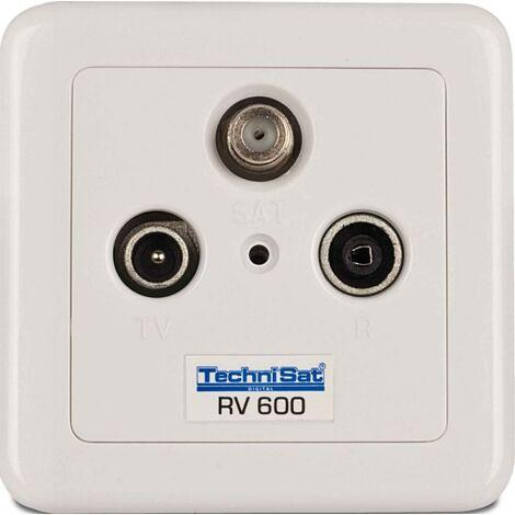 TechniSat SAT-Durchgangsdose RV600-10