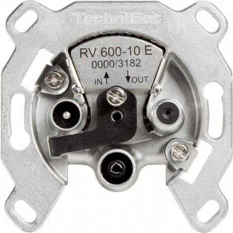 TechniSat SAT-Durchgangsdose RV600-10E