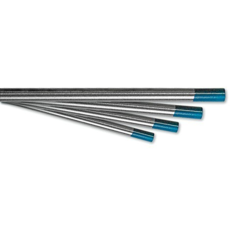 TECHNOLIT TECHNOLIT Wolfram-Elektrode WIGSTAR Longlife türkis für Gleichstrom und Wechselstrom AC/DC, enthält 2% seltene Erden, 175 mm Länge, Thoriumfrei, entspricht DIN EN 26848, VPE 10 Stück