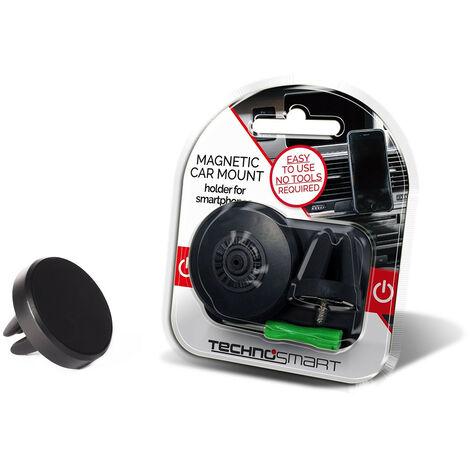 technosmart auto handyhalterung f r die l ftung 360 smartphone halter mit magnet. Black Bedroom Furniture Sets. Home Design Ideas