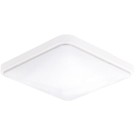 Techo cuadrado de la lampara LED, AC220-V, color blanco, 30 * 30,24W