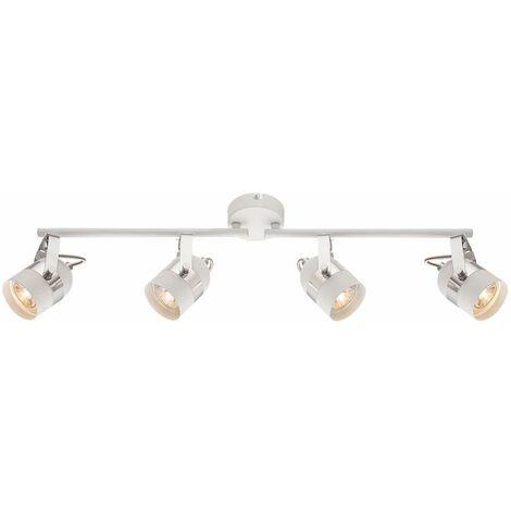 Techo de LED Lámpara de la sala de estar Luz del carril Proyector Spotlight Ajustable  Globo 57353-4