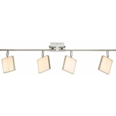 techo iluminación regulable lámpara diseño focos LED Spots salón BRAVA