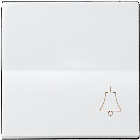 Tecla campana Serie 28 Blanco Nieve
