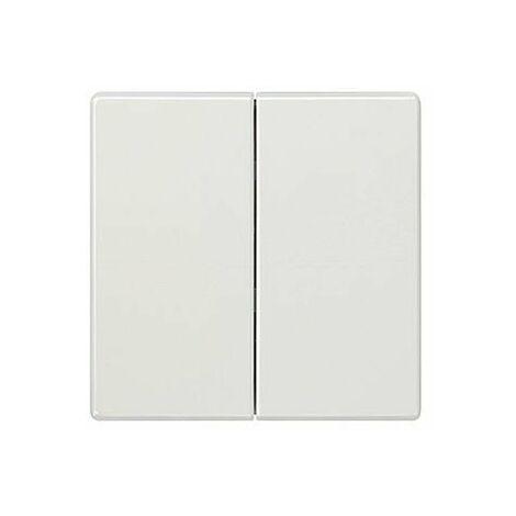 Tecla doble blanco polar Siemens Delta Style, 5TG7270-1WH00