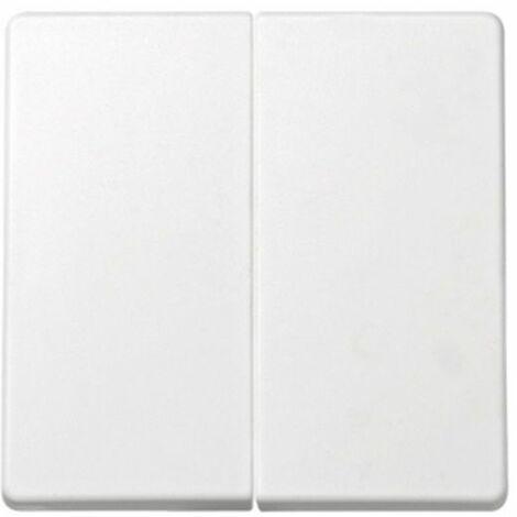 Tecla doble para interruptor-conmutador-cruzamiento blanco Simon73 Loft 73026-60