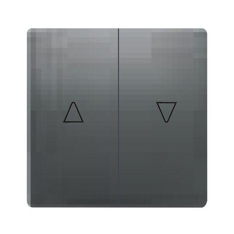 Tecla doble para persianas antracita cosso Siemens Delta Style 5TG72765AC00