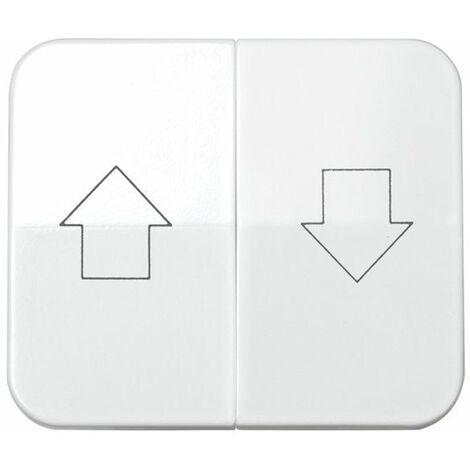 Tecla doble persianas blanco Simon 75 75028-30