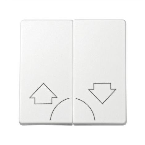 Tecla doble pulsador BLANCO Simon 73 Loft 73028-60