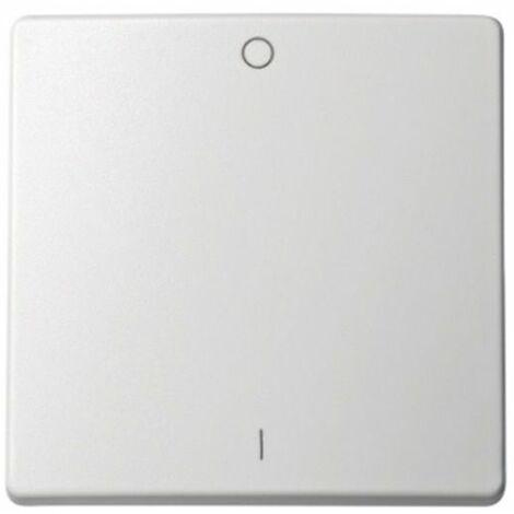 Tecla interruptor bipolar con grabado I/O blanco Simon73 Loft 73023-60