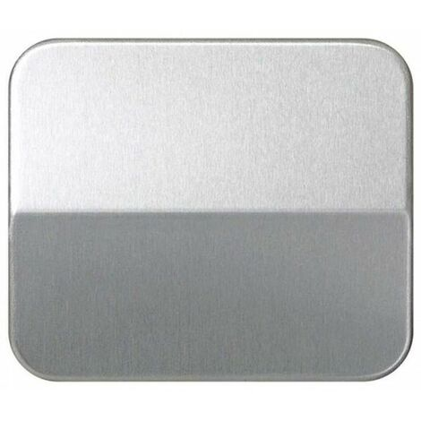 Tecla interruptor-conmutador-cruzamiento aluminio Simon 75 75010-33