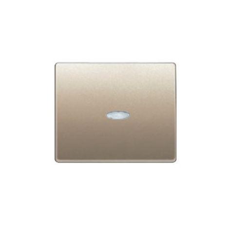 Tecla interruptor conmutador cruzamiento luminoso bronce niebla BJC Mega 22705-BNL