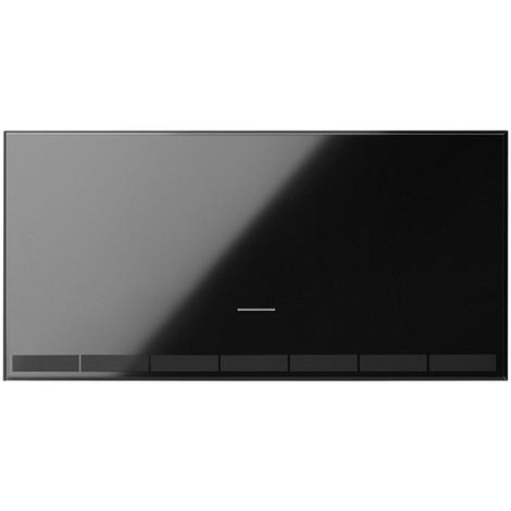 Tecla interruptor master regulable IO Serie 100 negro