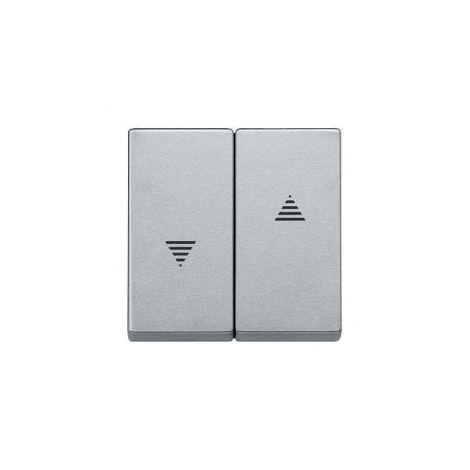 Tecla mecanismos de persianas Aluminio SCHNEIDER ELEGANCE MTN435560