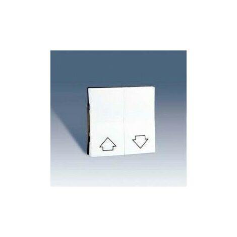 Tecla para grupo de 2 pulsadores de persianas BLANCO Simon 28 28028-30