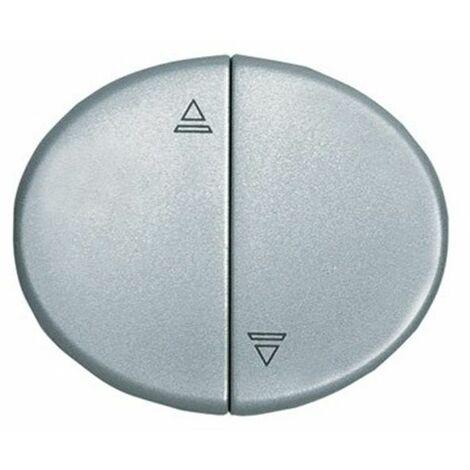Tecla interruptor persianas plata Niessan Tacto 5544 PL