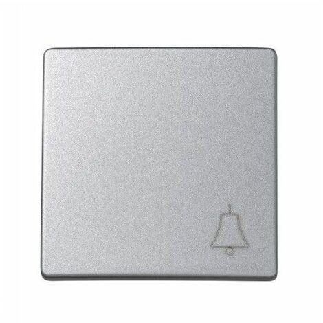 Tecla pulsador campana ALUMINIO Simon 73 Loft 73017-63