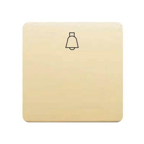 Tecla pulsador campana ancha MARFIL BJC 17716-A