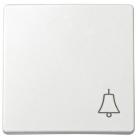 Tecla pulsador símbolo campana blanco Simon73 Loft 73017-60