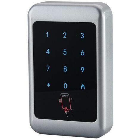 Teclado control acceso autónomo táctil tarjeta de proximidad o pin