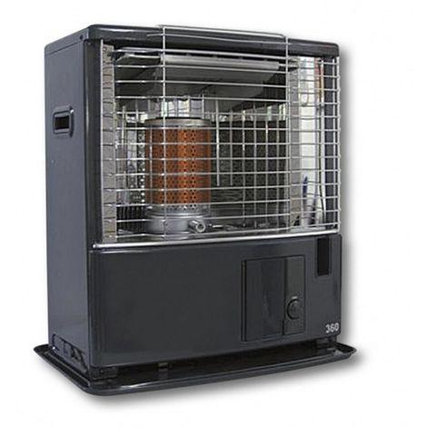Tecno-air-system Poêlé à mèche à pétrole 3000 W mobile chauffage TOSAI 360