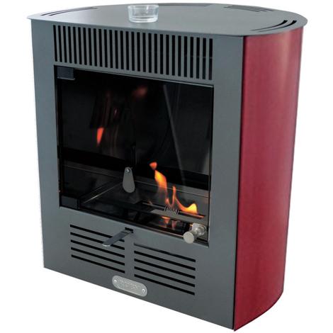Tecno-air-system Poêle au bioéthanol 2300 W ventilé Ruby Smart