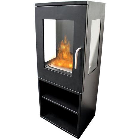 tecno air system po le au bio thanol 2500 w noir 1 2 l. Black Bedroom Furniture Sets. Home Design Ideas