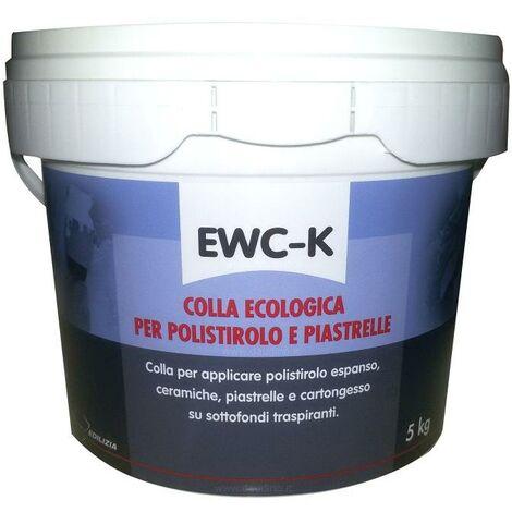 Tecnostuk - COLLA EWC-K ECOLOGICA POLISTIROLO 5KG