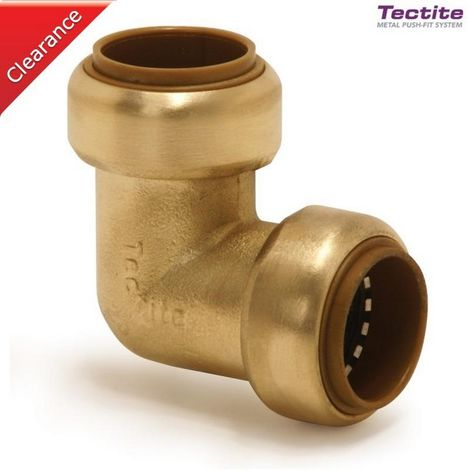 Tectite 45510 - connection Brass elbow T12/T090 10mm (10pcs)