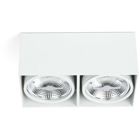 TECTO-AR111-2 Plafón de techo - Blanco