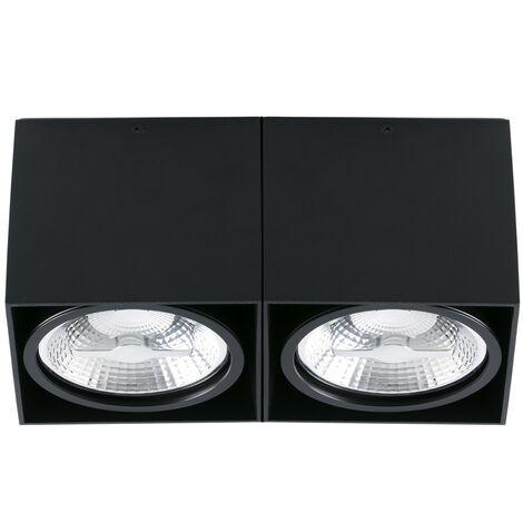 TECTO-AR111-2 Plafón de techo - Negro