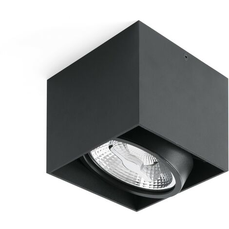 TECTO-AR111 Plafón de techo - Negro