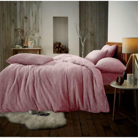 Teddy luxury duvet cover bed set