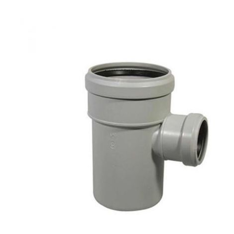 """main image of """"TEE BRAGA DERIVAZIONE RIDOTTA 87° Diam 110/50 mm PER TUBI SCARICO AD INNESTO"""""""