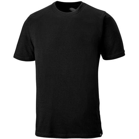 Tee-shirt de travail Dickies 100% coton Noir